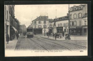AK Noisy-Le-Sec, La Place Jeanne d`Arc