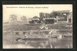 AK Charentonneau, Aubergè du Passeur, Chemin de Halage