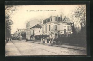 AK Joinville-Le-Pont, La Rue Chapsal