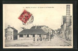 AK Belloy, Le Lavoir et la Grande-Rue