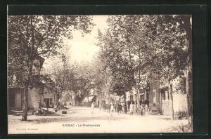 AK Rignac, La Promenade
