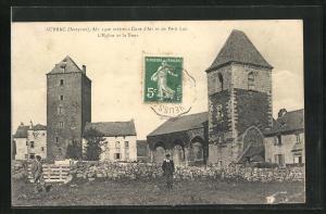 AK Aubrac, L`Eglise et la Tour