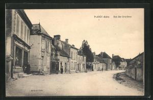 AK Plancy, Rue des Crenières