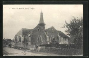 AK Prècy St-Martin, L`Eglise