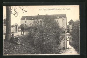 AK Pont-sur-Seine, Le Moulin