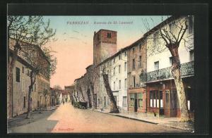 AK Fabrezan, Avenue de St-Laurent