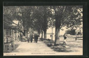 AK Le Pouliguen, La Promenade