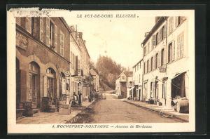 AK Rochefort-Montagne, Avenue de Bordeaux