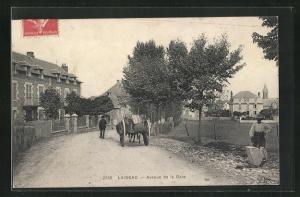 AK Laissac, Avenue de la Gare
