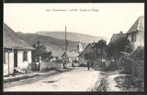 AK Lauw, Entree du Village