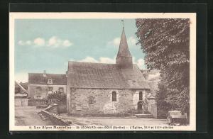 AK St-Leonard-de-Bois, L`Eglise