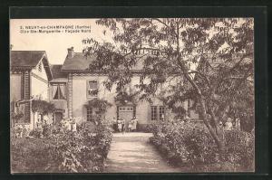 AK Neuvy-en-Champagne, Clos Ste-Marguerite, Facade Nord