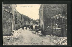 AK Bourmont, Rue de Vivier