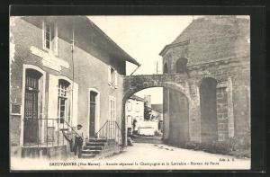 AK Breuvannes, Arcade separant la Champagne et la Lorraine, Bureau de Poste