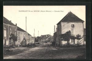 AK Dammartin-sur Meuse, Grande Rue