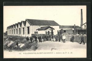 AK Villeneuve-Saint-Georges, Atelier du P. L. M.