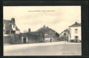 AK Ancenis, Place de Saint-Gereon
