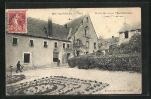 AK Savenay, Ecole Normale d`Instituteurs, Cour d`honneur