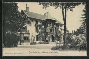 AK Pont-de-Poitte, Chateau de Mirevent