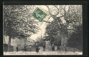AK Plourhan, Avenue de la Ferme de Beauvoir