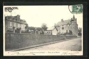 AK Dun-le-Palleteau, Place de la Mairie