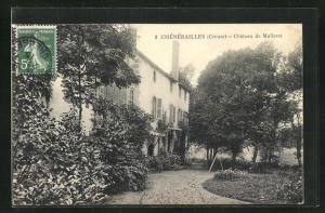 AK Chenerailles, Chateau de Malleret