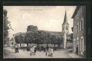 AK Rom, Place St-Jacques