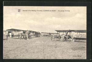 AK Longuic, un groupe d`Avions, Flugzeuge