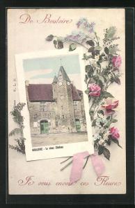 Künstler-AK Bouloire, le vieux Chateau