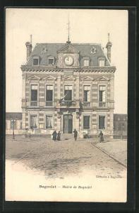 AK Bagnolet, Mairie, mit Passanten