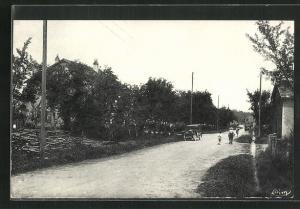 AK Citers, Un coin de la grande Rue, Strassenpartie