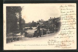 AK Vivonne, Veu prise du Moulin de la Levee