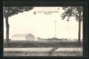 AK Longvic, Camp d`Aviation d`Ouges-Longvic, Halte civile