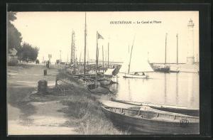 AK Ouistreham, Le Canal et Phare