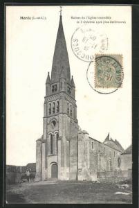 AK Moree, Ruines de l`Eglise incendiee