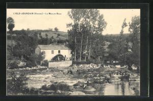 AK L`Isle-Jourdain, Le Moulin Beau