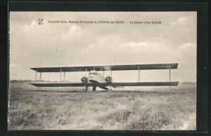 AK Longvic-les-Dijon, Meeting d`Aviation-Le Dèpart d`un Goliath