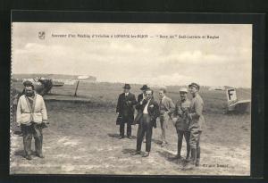 AK Longvic-les-Dijon, Meeting d`Aviation-Deux As Sadi-Lecointe et Haeglen