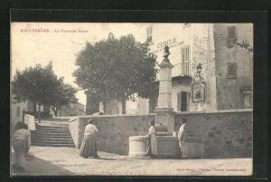 AK Roquebrune, La Fontaine Neuve