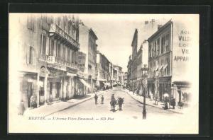 AK Menton, L`Avenue Victor-Emmanuel