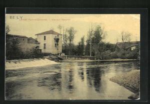 AK Lexos, Vue sur l`Aveyron