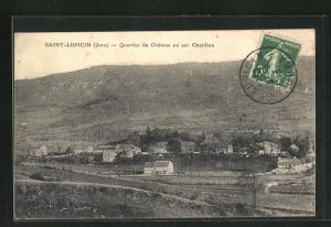 AK Saint-Lupicin, Quartier du Chateau ou sur Chatillon