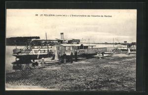 AK Le Pellerin, L` Embarcadère de l`Abeille de Nantes