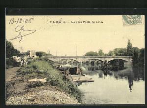 AK Mantes, Les deux Ponts de Limay
