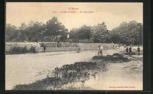AK L`Aude, Mirepeisset, La Chaussee