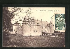 AK La Roche-en-Brenil, Le Chateau
