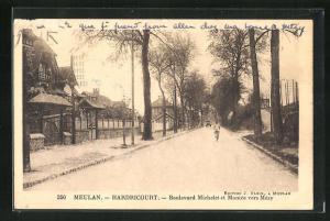 AK Meulan, Boulevard Mivchelet et Montee vers Mezy