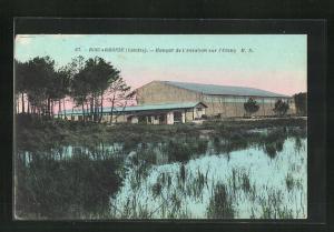 AK Biscarosse, Hangar de l`Aviation sur l`Etang M. D.