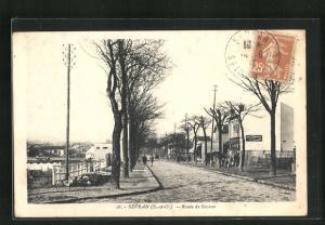 AK Sévran, Route de Sévran