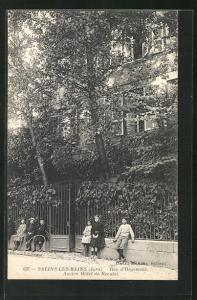 AK Salins-les-Bains, Rue d`Orgemont, Ancien Hotel de Reculot
